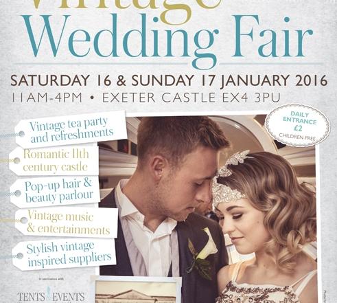Exeter Wedding fair  A4 poster.indd