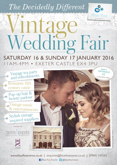 Exeter Wedding fair  A4 poster.indd