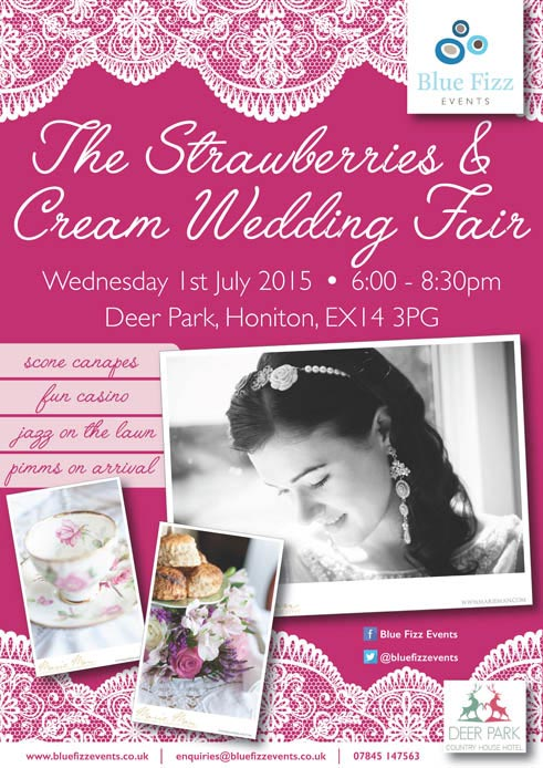 July 2015: Exhibitor Profile for the Strawberries & Cream Wedding Fair