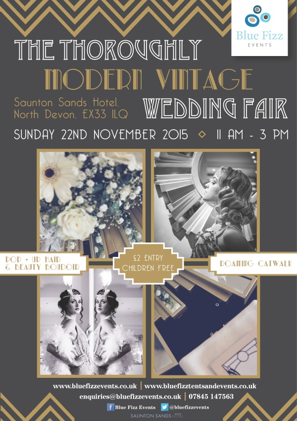 November 2015: The Thoroughly Modern Vintage Wedding Fair