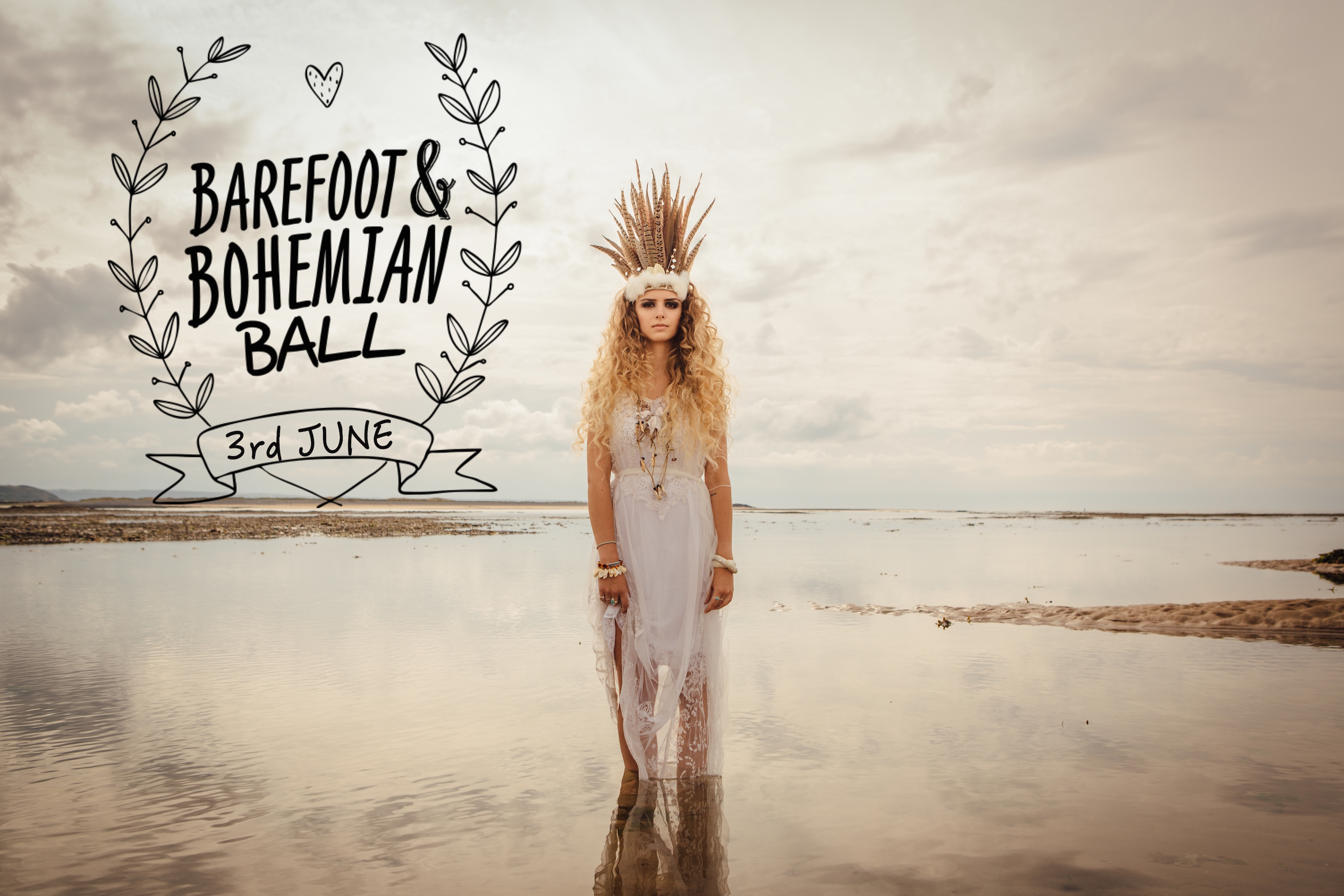 Boho Beats & Feasts at The Barefoot Ball 2016, Croyde Devon