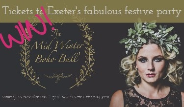Win tickets to Exeter's most unique Xmas event: The Midwinter Boho Ball
