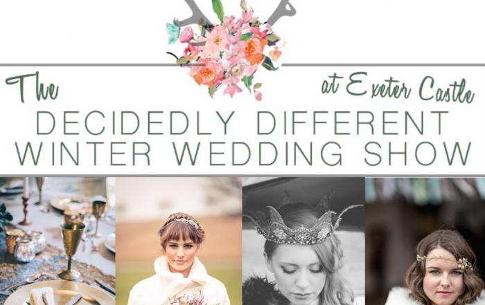 Decidedly Different Winter Wedding Show Artwork idea