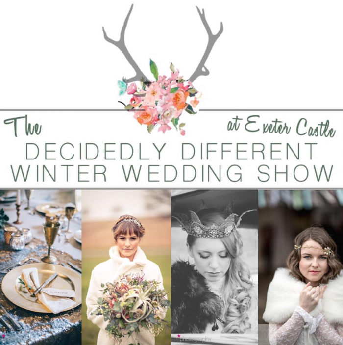 Decidedly Different Winter Wedding Show Artwork idea