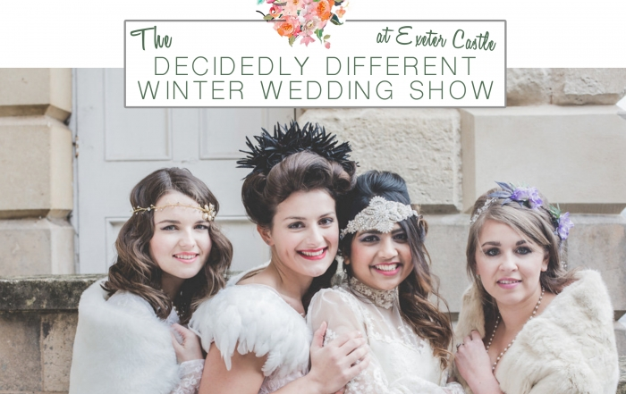 the decidedly different winter wedding show 2018 2