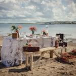 beach wedding croyde