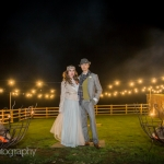 Autumn winter wedding outdoor devon Upton Barn 3