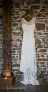 modern rustic wedding dress long devon c