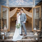 winter wedding devon autumn upton barn modern rustic
