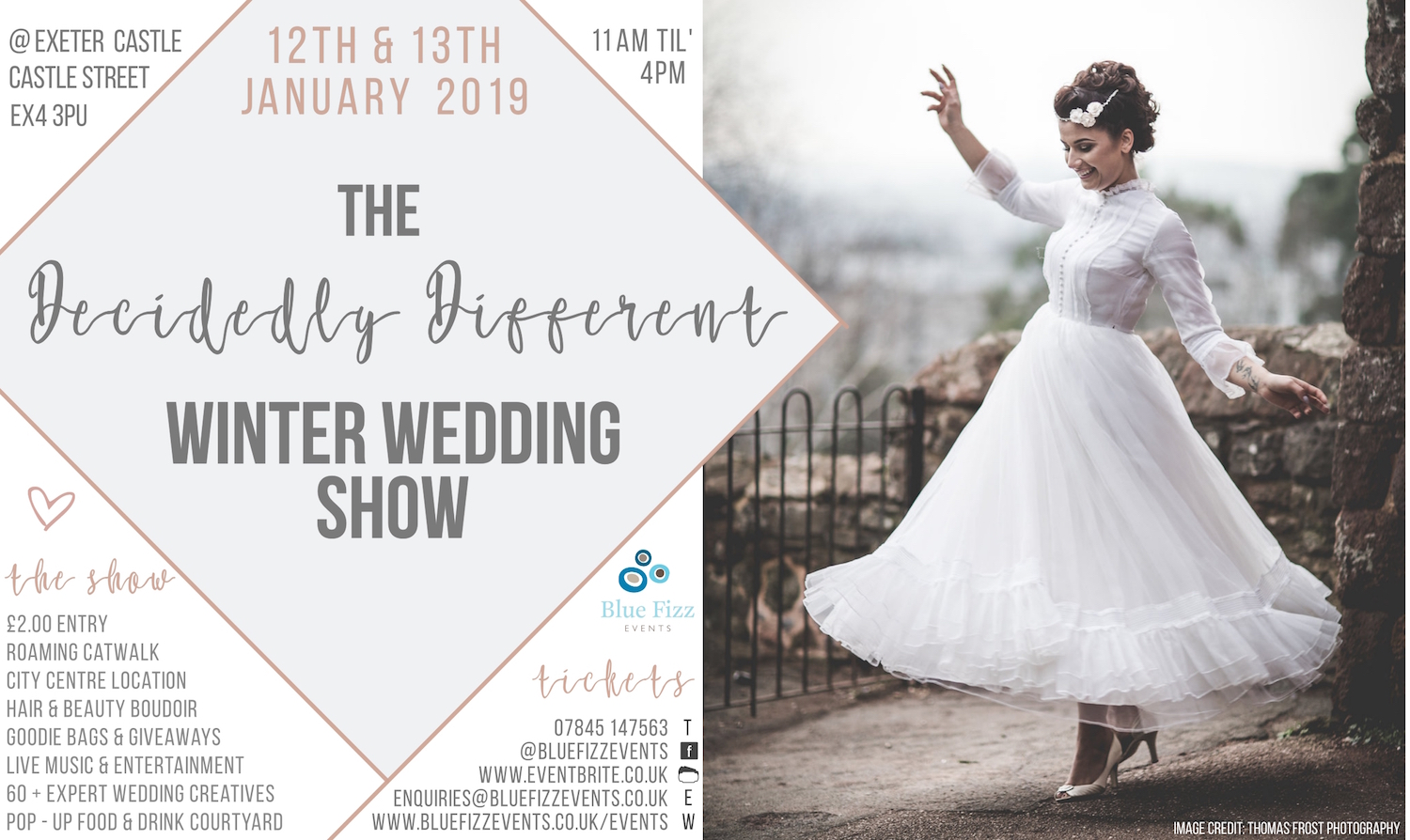 The decidedly different winter wedding show