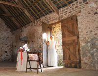 Rustic barn wedding devon 2