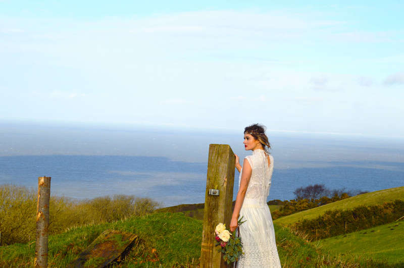 green eco wedding devon