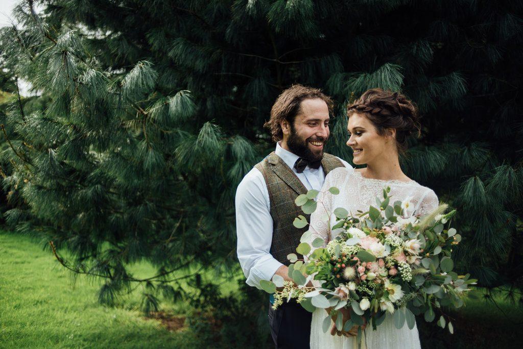 Natural Boho Wedding Shoot Westcott Barton