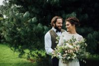 Natural Boho Wedding Shoot Westcott Barton